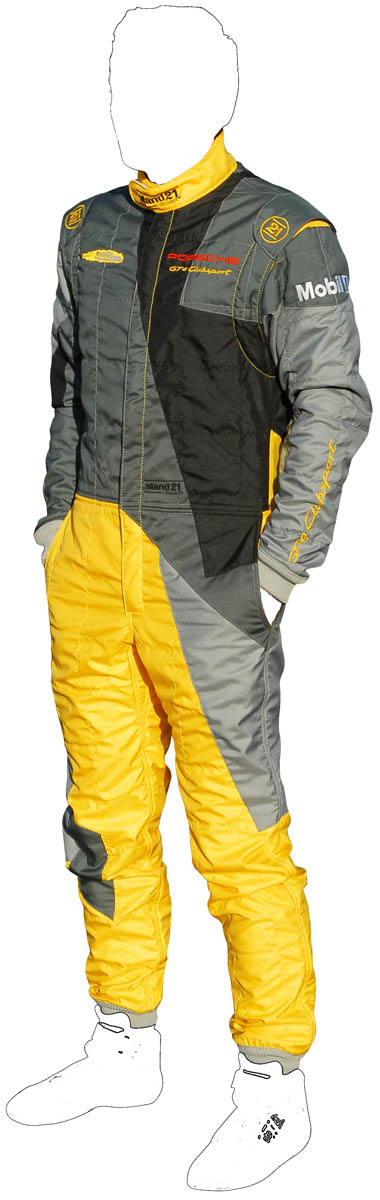 Colored GT4 Clubsport racing suit
